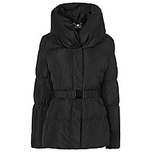 Buy Phase Eight Larissa Quilted Jacket, Black Online at johnlewis.com