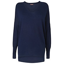 Buy Phase Eight Henrietta Jumper, Navy Online at johnlewis.com