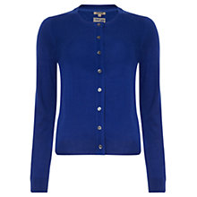 Buy Jigsaw I Love You Cardigan, Royal Blue Online at johnlewis.com