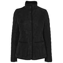 Buy Jaeger Quilted Jacket, Black Online at johnlewis.com