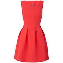 Buy Almari Seam Bodice Dress, Coral Online at johnlewis.com