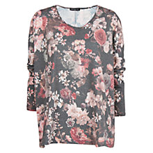 Buy Mango Floral Print T-Shirt Online at johnlewis.com