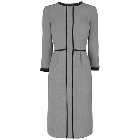 Buy Jaeger Collette Dress, Grey Online at johnlewis.com
