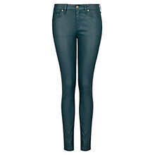 Buy Mango Coated Super-Slim Jeans Online at johnlewis.com