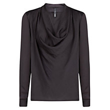 Buy Mango Cowl Neck Flowy Blouse Online at johnlewis.com