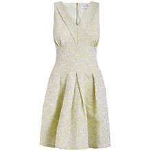 Buy Almari V-Neckline Dress, Lime Online at johnlewis.com