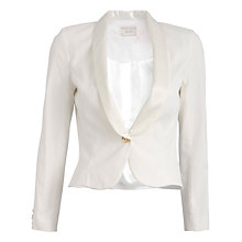Buy Almari Lapel Jacket, White Online at johnlewis.com