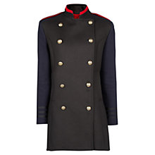 Buy Mango Military Style Coat, Navy Online at johnlewis.com