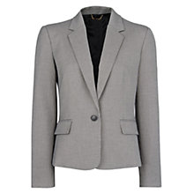 Buy Mango Houndstooth Print Blazer, Black Online at johnlewis.com