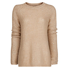 Buy Mango Sequined Mohair Blend Jumper Online at johnlewis.com