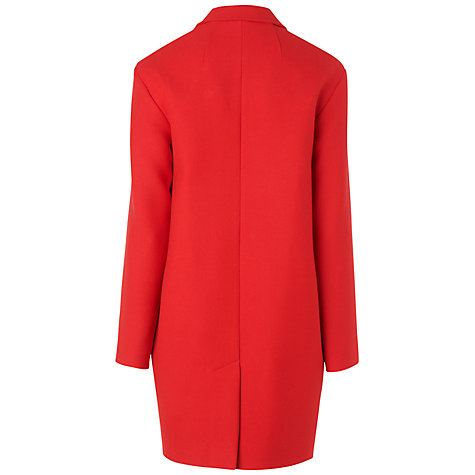 Buy Jaeger Boucle Coat, Red Online at johnlewis.com
