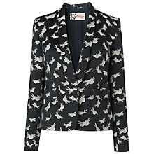 Buy Boutique by Jaeger Black Bird Tuxedo Jacket. Black Online at johnlewis.com