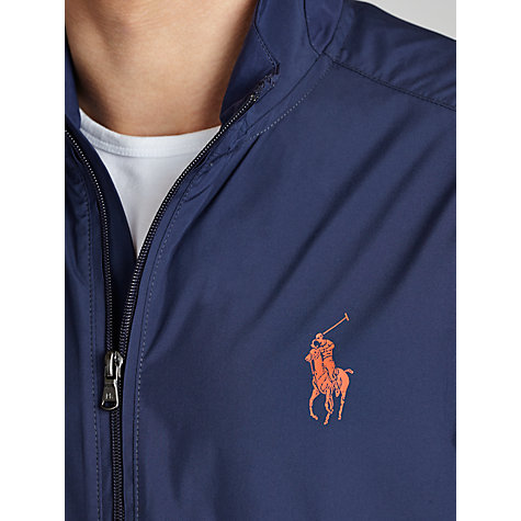 Buy Polo Golf by Ralph Lauren Windbreaker Jacket, Navy Online at johnlewis.com