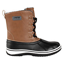 Buy Protest Hypnotic Snow Boots, Brown/Black Online at johnlewis.com
