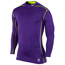 Buy Nike Pro Combat Hyperwarm Compression Mock 2.0 Top Online at johnlewis.com