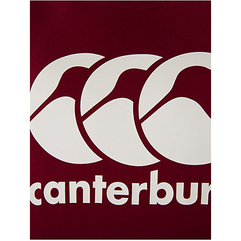 Buy Canterbury of New Zealand CCC Classic Logo T-Shirt Online at johnlewis.com