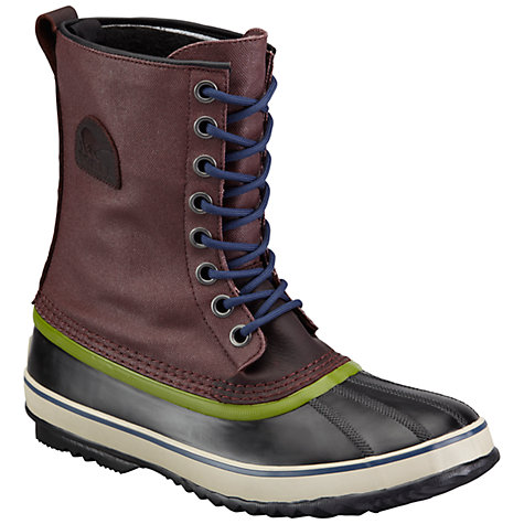 Buy Sorel Premium T Canvas Boots, Brown Online at johnlewis.com