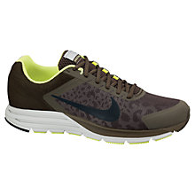 Buy Nike Men's Zoom Structure +17 Shield Running Shoes, Brown Online at johnlewis.com