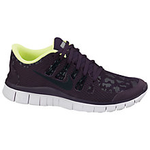 Buy Nike Women's Free 5.0+ Running Shoes, Purple Online at johnlewis.com