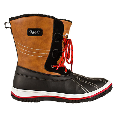Buy Protest Bells Snow Boots, Gold/Black Online at johnlewis.com