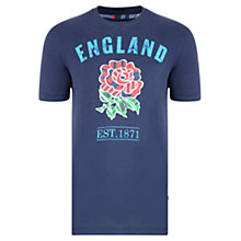 Buy Canterbury of New Zealand England Uglies T-Shirt, Navy Online at johnlewis.com