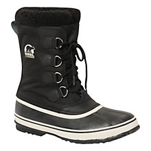 Buy Sorel Pac Winter Boots, Black Online at johnlewis.com