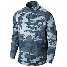 Buy Nike Element Half Zip Camo Jacquard Running Top Online at johnlewis.com
