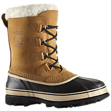 Buy Sorel Caribou Snow Boots, Buff Online at johnlewis.com