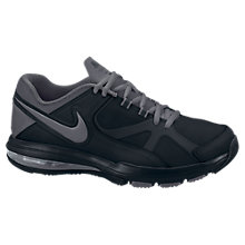 Buy Nike Air Max Compete TR Shield Cross Training Shoes Trainer, Black/Dark Grey Online at johnlewis.com