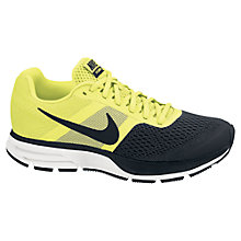 Buy Nike Men's Air Pegasus+ 30 Running Shoes, Yellow/Black Online at johnlewis.com