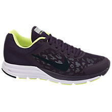 Buy Nike Zoom Structure +17 Shield Running Shoes Online at johnlewis.com