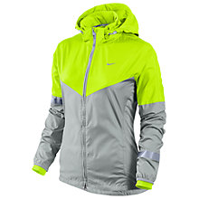 Buy Nike Women's Vapor Jacket, Grey/Green Online at johnlewis.com