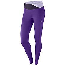 Buy Nike Epic Running Tights, Purple Online at johnlewis.com