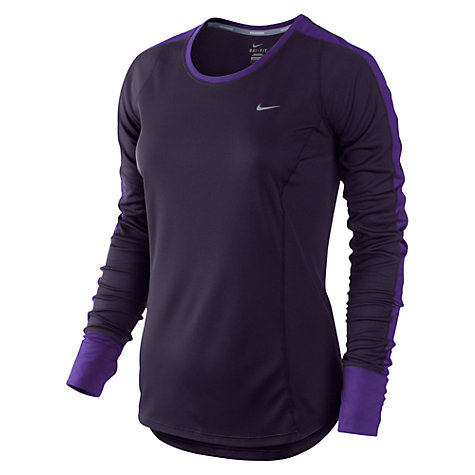 Buy Nike Racer Long Sleeve Top Online at johnlewis.com
