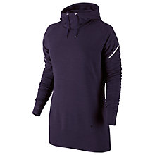 Buy Nike Women's Dri-Fit Training Hoodie, Purple Online at johnlewis.com