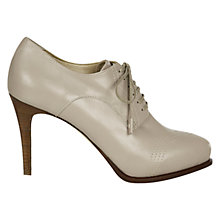 Buy Hobbs Peighton Shoe Boots, Stone Grey Online at johnlewis.com