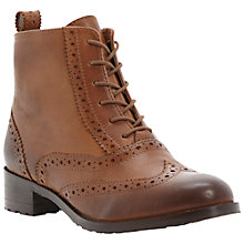 Buy Bertie Peron Brogue Leather Ankle Boots Online at johnlewis.com