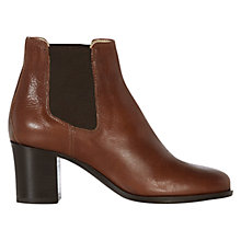 Buy Hobbs Blake Heeled Chelsea Boots, Winter Tan Online at johnlewis.com