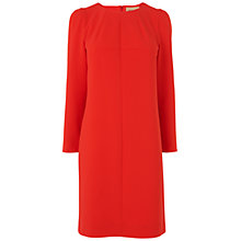 Buy Jaeger Shift Dress, Red Online at johnlewis.com