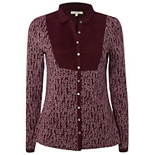 Buy White Stuff West Village Shirt, Aubergine Online at johnlewis.com