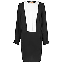 Buy Jaeger Tuxedo Dress, Black Online at johnlewis.com