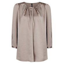 Buy Mango Pleated Blouse Online at johnlewis.com