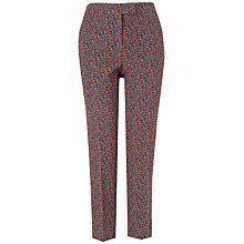 Buy Jaeger Floral Trousers, Multi Online at johnlewis.com
