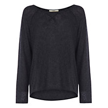 Buy Oasis Dip Hem Sweat Jumper Online at johnlewis.com