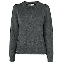 Buy Boutique by Jaeger Shimmer Lurex Jumper, Pewter Online at johnlewis.com