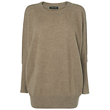 Buy Jaeger Pure Cashmere Slouchy Jumper Online at johnlewis.com