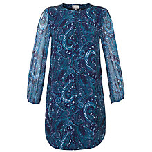 Buy Ghost Calypso Print Tunic Dress, Luscious Paisley Online at johnlewis.com