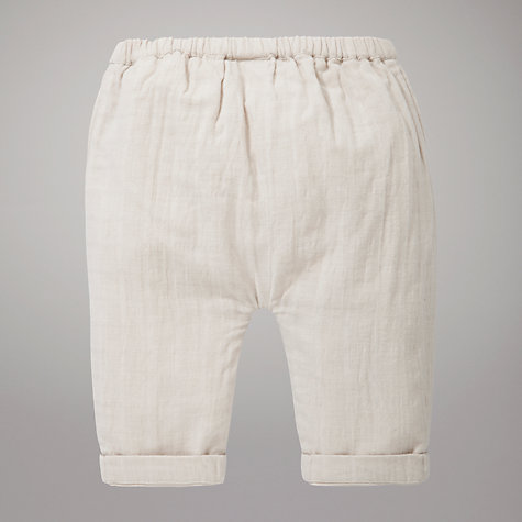 Buy Kin by John Lewis Harem Textured Trousers, Stone Online at johnlewis.com