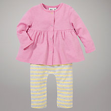 Buy Kin by John Lewis Girls' All-in-One Outfit, Pink Online at johnlewis.com
