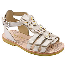 Buy Start-rite Fiji Leather Sandals, Champagne Online at johnlewis.com